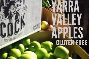MADE FROM 100% PURE YARRA VALLEY APPLES
