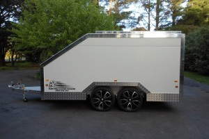 Enclosed Morotcycle Trailer