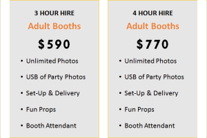photobooth packages
