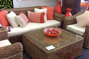 Great range of cane furniture