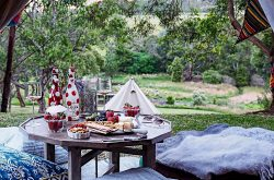 Iluka Retreat Mornington Peninsula Glamping Camping Accomodation Groups School camps Group Retreat